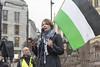 Kathrine Jensen, Palestinakomiteen - markering mot den israelske innreiseloven