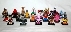 71017 lego the lego batman movie minifigures 2017 set of 20 loose complete - see description for names