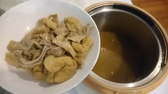Aunt Lay Leong's Bak Kut Teh with pork stomach, ribs and tofu puffs