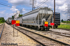 CEFX 20119 | Covered Hopper | CN Memphis Subdivision