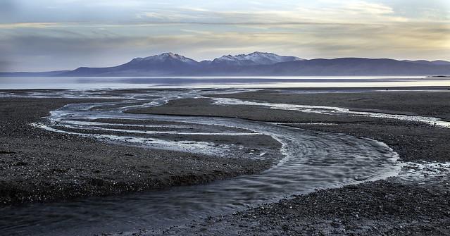 Scalpsie Bay at Dusk