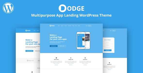 DODGE WordPress Theme free download