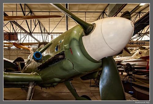 Messerschmitt Me 109 F_(Avia S-199)_Letecké museum_Praha - Kbely_Czechia