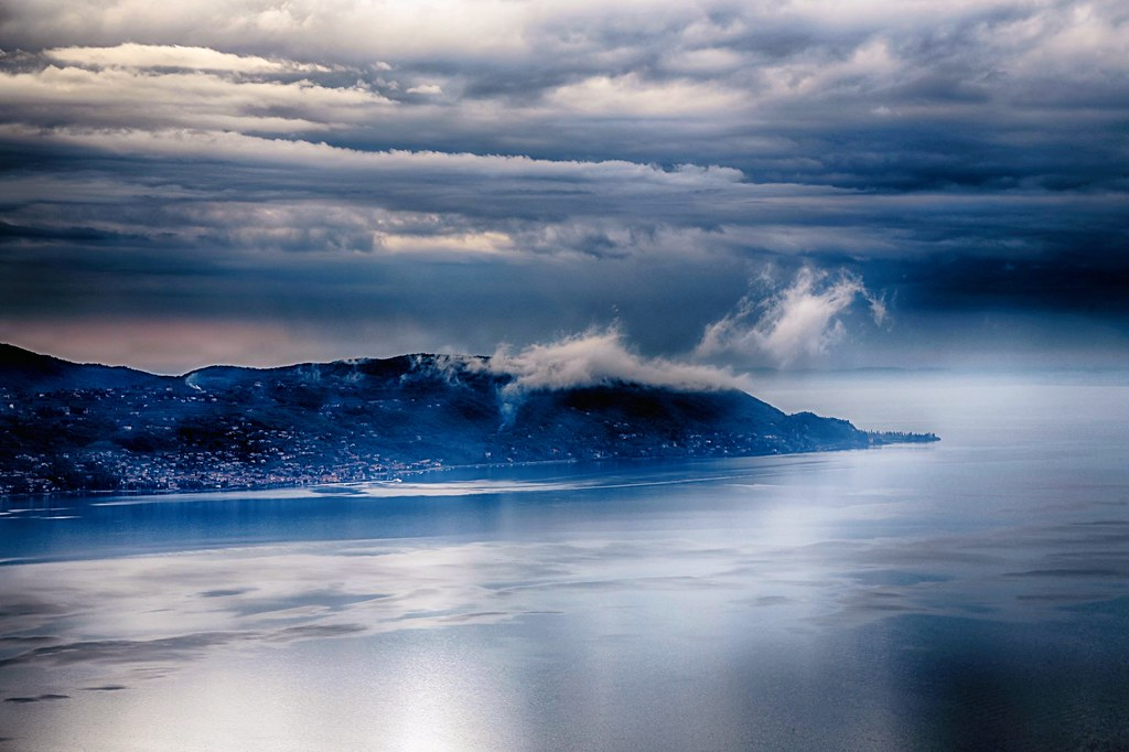 Mystic Clouds Over Garda