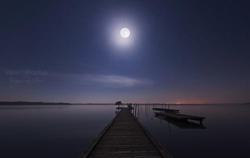 White 'pink moon'
