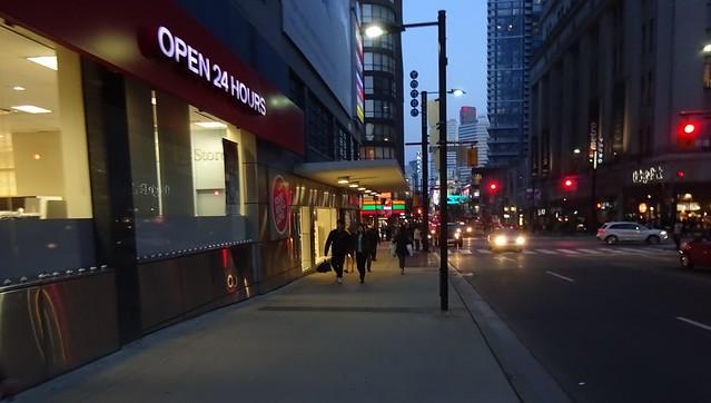 Corner of Yonge & Carlton Streets