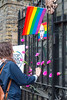 "London: Hundreds protest Chechnya gay ""concentration camps"""