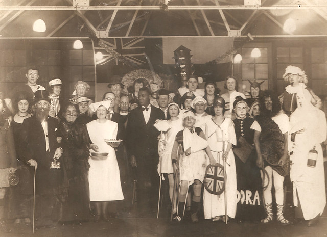 Fancy dress carnival St Chad Shrove Tuesday 1932