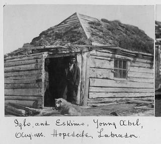 Young Abel, Hopedale, Labrador / Le jeune Abel, Hopedale (Labrador)