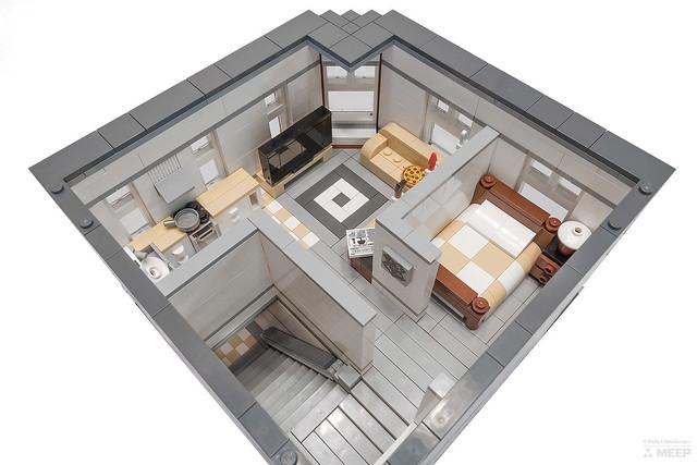 LEGO Revolution upstairs interior