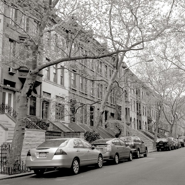 Lots of Brownstones.