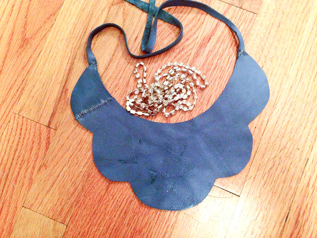 DIY Flower Cabochon Necklace with Martha Stewart Jewelry