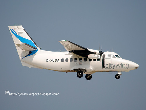 OK-UBA Let L-410UVP-E16 by Jersey Airport Photography