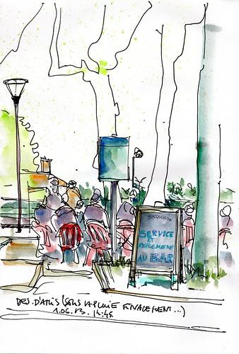 toujours au café, Lyon