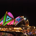Opera House in Vivid Colour