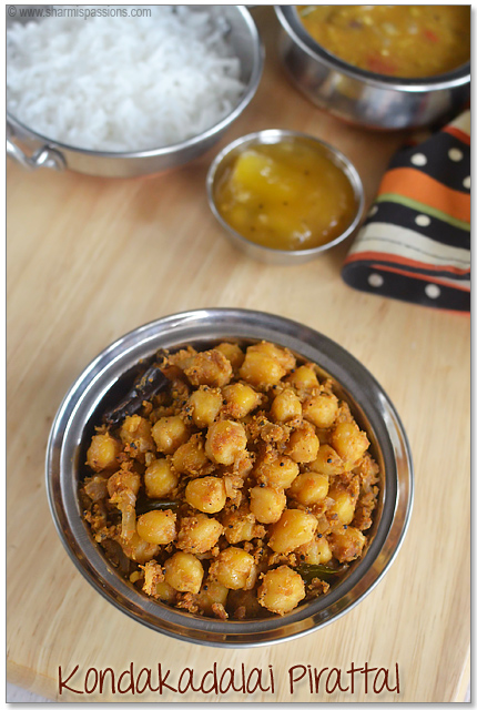 Chana Dry Curry Recipe