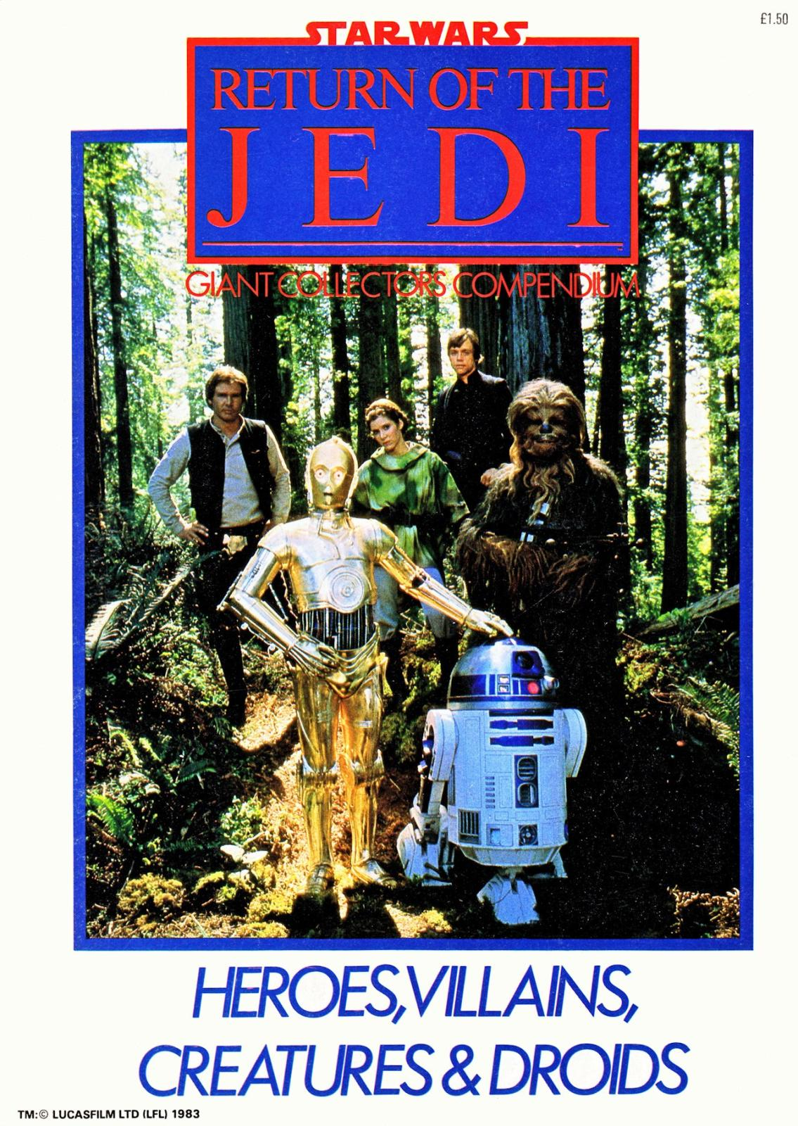 star wars return of the jedi compendium 1983