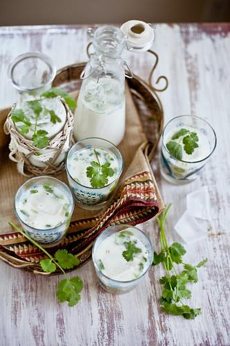 Mattha (Indian Spiced Yogurt Drink)