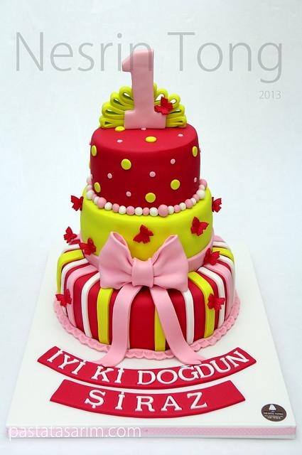 first birthday cake - şiraz