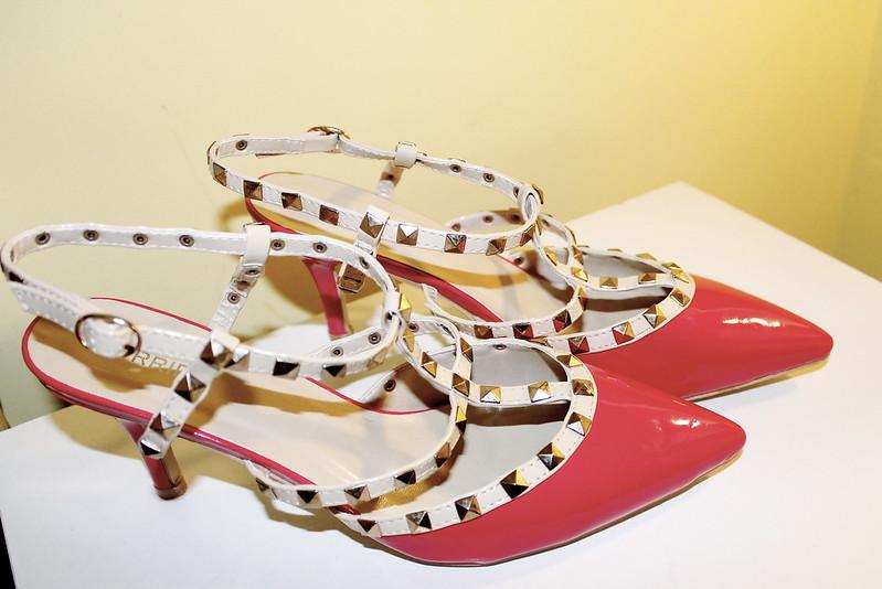 Valentino studded heel