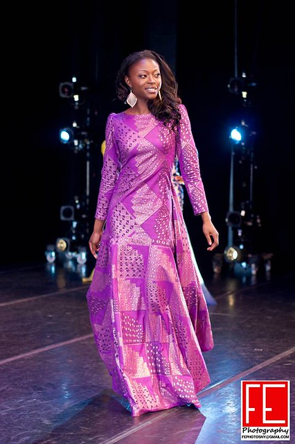 Afua in Evening Gown