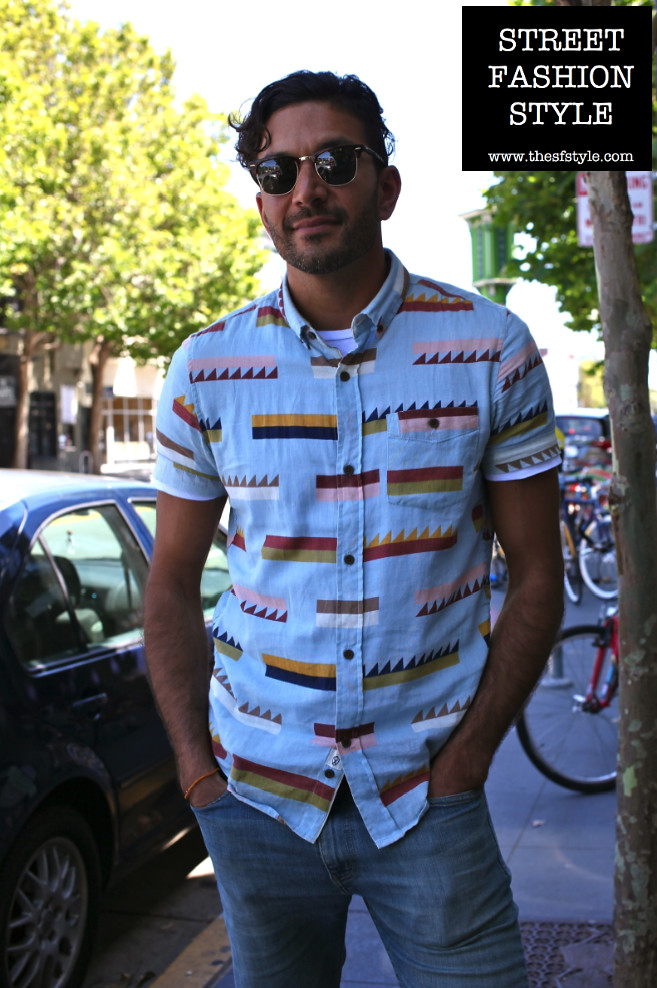 man morsel monday, graphic print, sunglasses, thesfstyle, sfstyle, street fashion style, san francisco fashion blog,