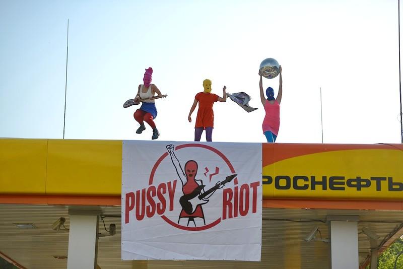 Punk's not dead - Pussy Riot