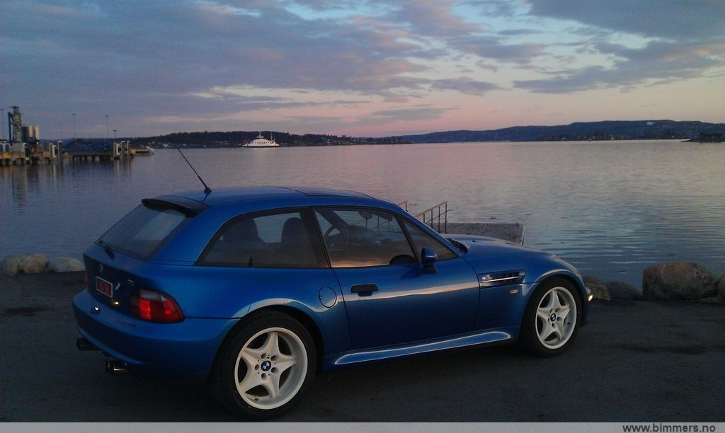 1998 M Coupe | Estoril Blue | Estoril/Black | Imported to Norway from Japan | White Roadstars
