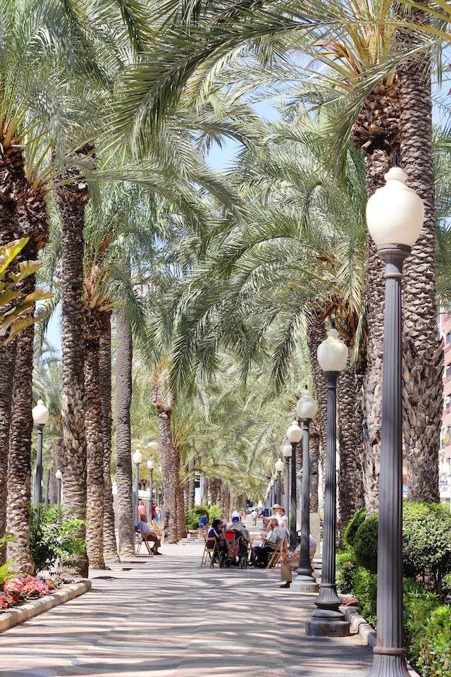 Alicante Explanada de Espana