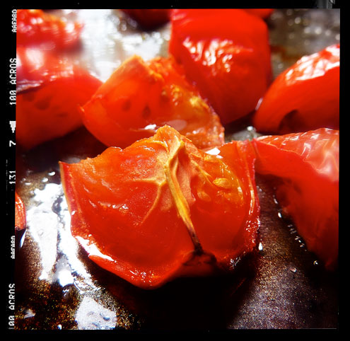 Tomato vinaigrette