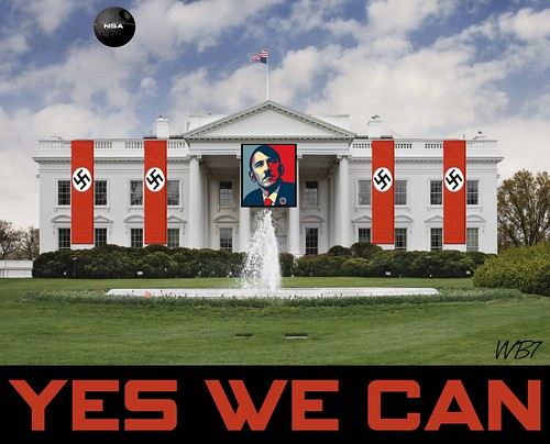 YES WE CAN (WHITEHOUSE VERSION) by WilliamBanzai7/Colonel Flick