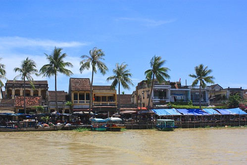 Hoi An from boat