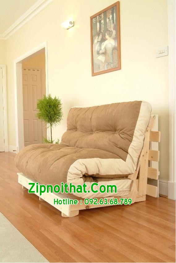 Giường gấp Hàn Quốc đa năng - Phong cách nội thất hiện đại - Ghế và giường kêt hợp