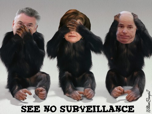 SEE NO SURVEILLANCE by WilliamBanzai7/Colonel Flick