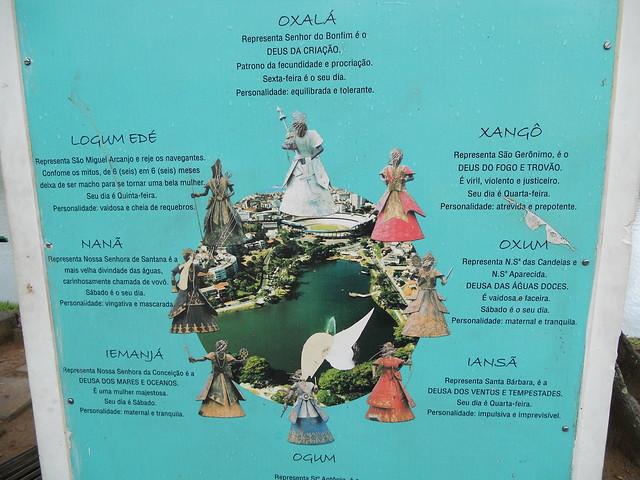 Intolerância religiosa no Dique do Tororó, Salvador (BA)