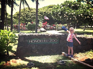 Excited to visit the Honolulu Zoo