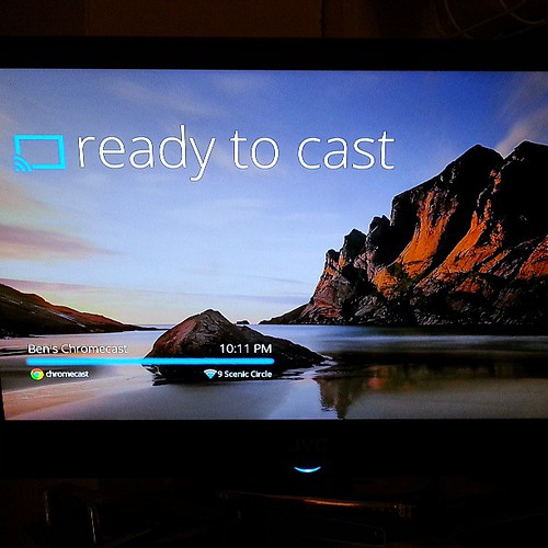 #chromecast Installed... review coming soon at thefatherlife.com.