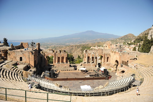 Taormina (Sicilië, Italië)