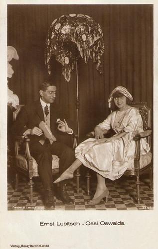 Ernst Lubitsch, Ossi Oswalda