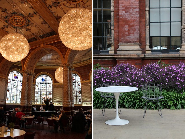 London Teil 4 (Clerkenwell + South Kensington) V+A Café