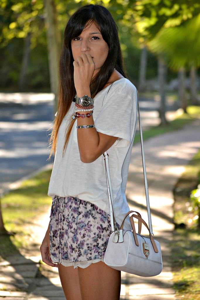 zara shorts 8