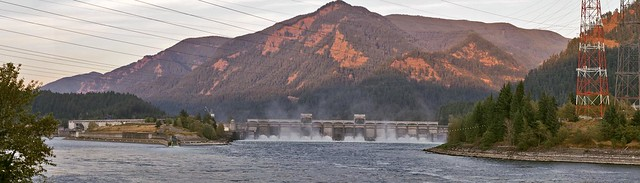 Bonneville Dam Panorama