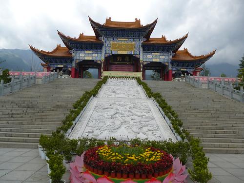 Yunnan13-Dali-4. Place du Temple (4)