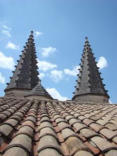 063 bovenop het Palais des Papes