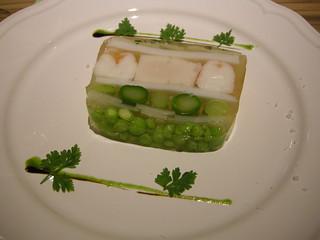 綠竹筍海鮮凍,圖片來源:海龍王愛地球協會