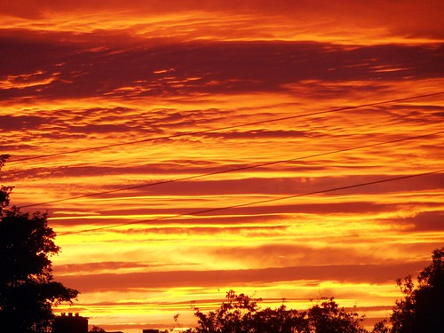 light sunset red sky orange sunlight colors weather yellow clouds evening colours