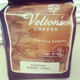 Love this Velton's Guatemala Single Origin I picked up from @neptunecoffee #Seattle #coffee #firstcup