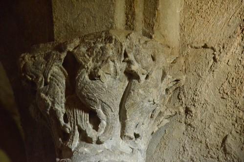 Memleben (Saxe-Anhalt), crypte de l'abbatiale - 13