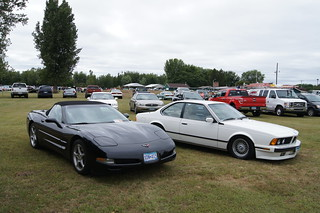 01 Chevrolet Corvette & BMW 635 CSi