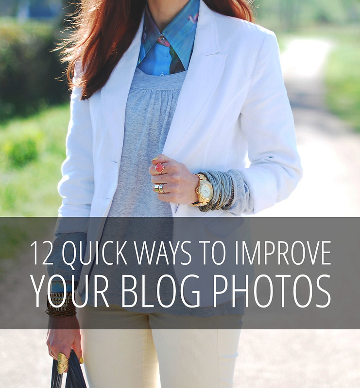 12 Quick Ways To Improve Your Blog Photos